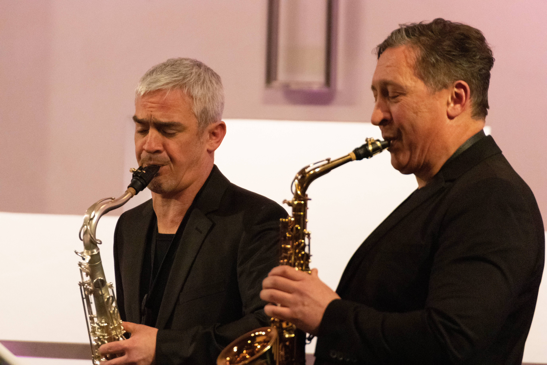 Alban Hauser und Timur Isakov
