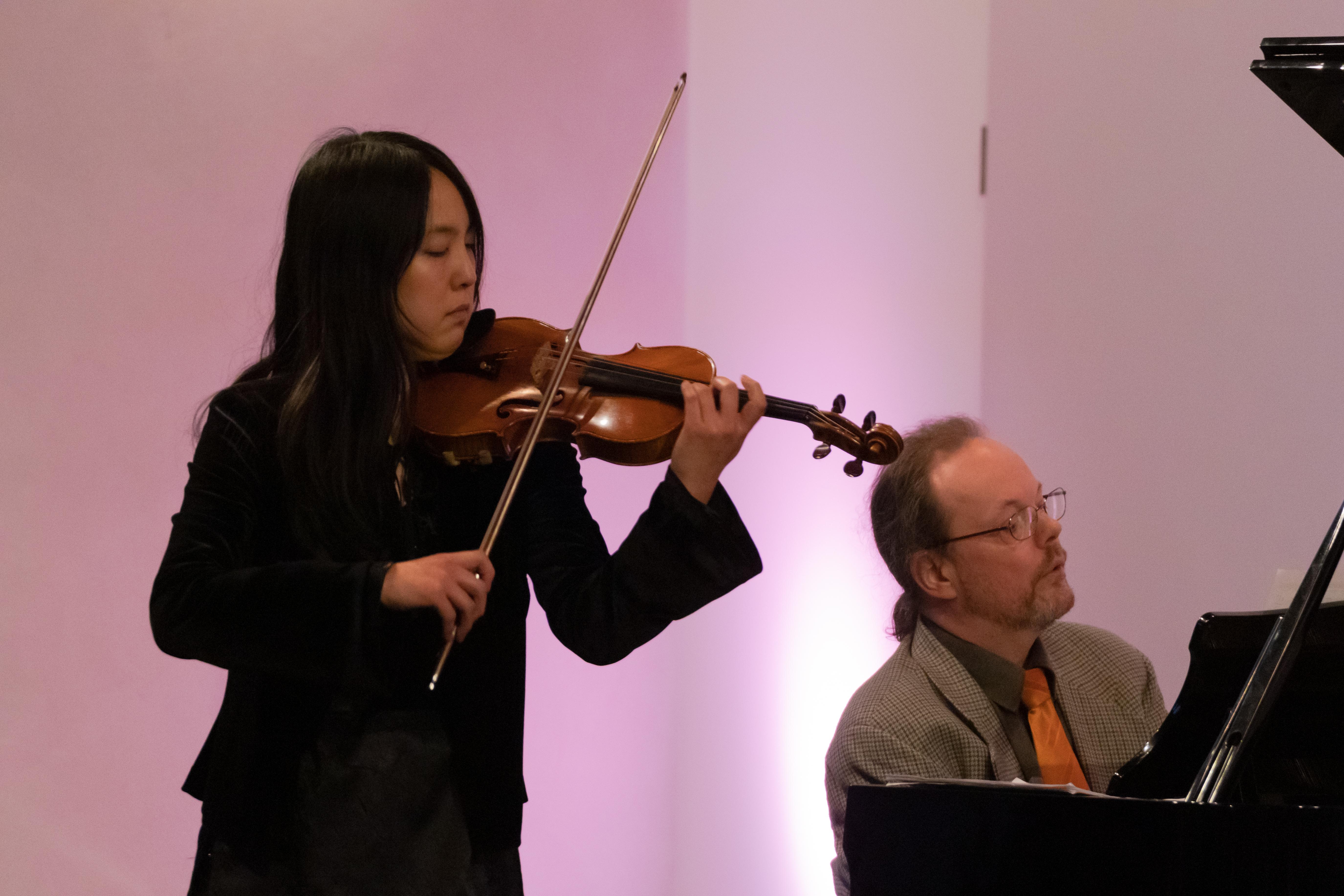 Mari Kawabata und Frank Höngen