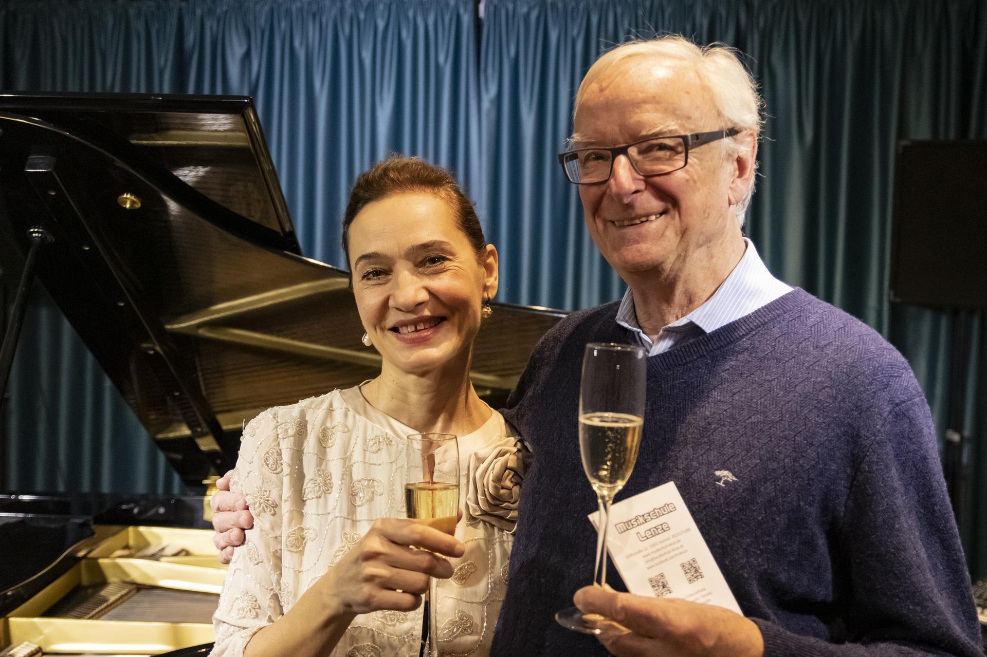 Danica Stojanova und Gerd Lenze
