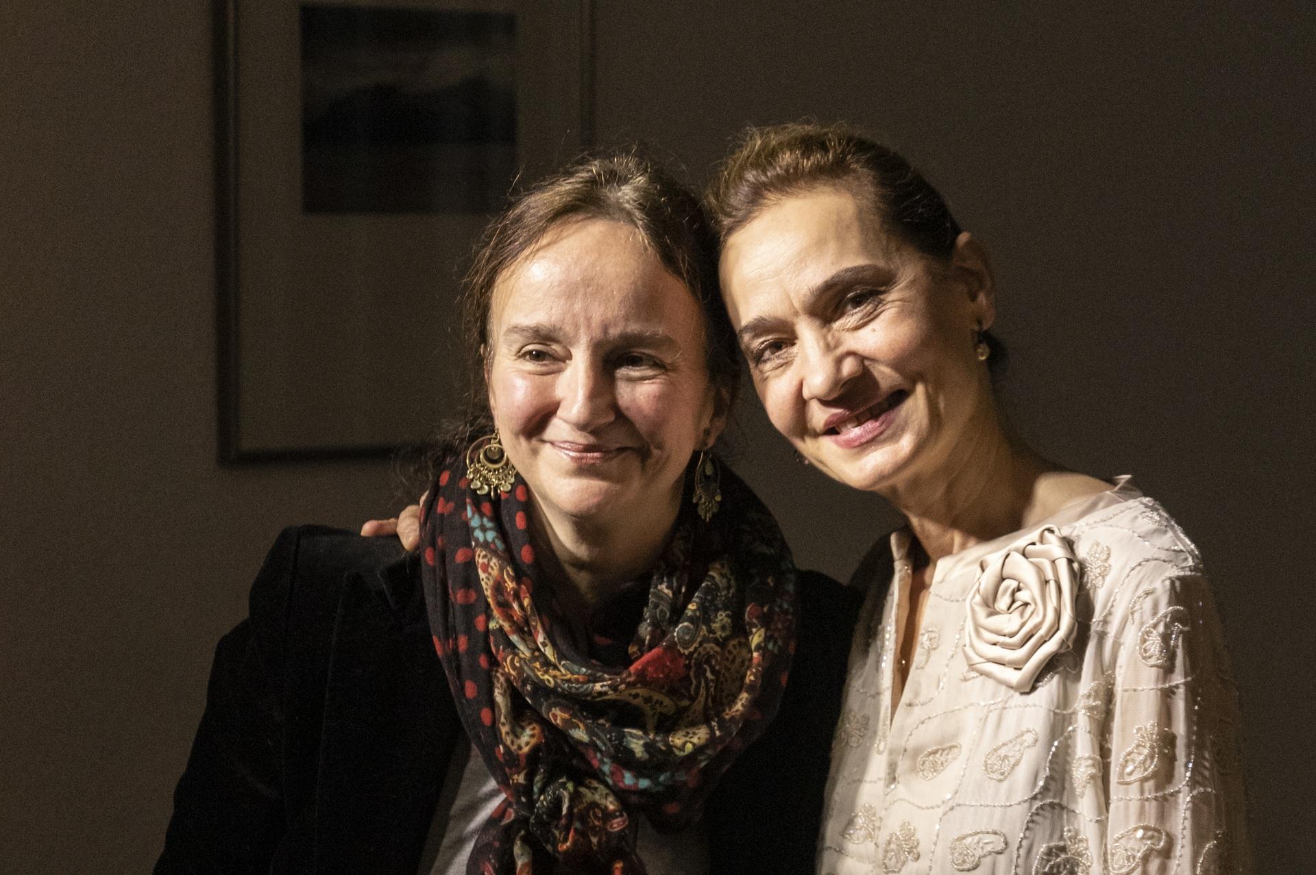 Hajdi Elzeser und Danica Stojanova
